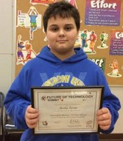 Jacobey Furrow earns honorable mention in essay contest