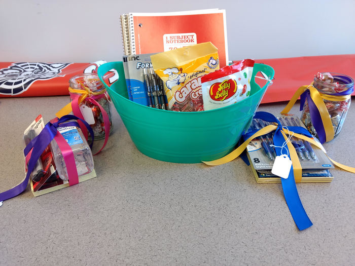 Teacher and staff appreciation baskets