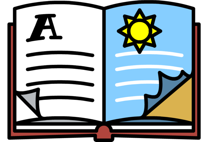illustration of book