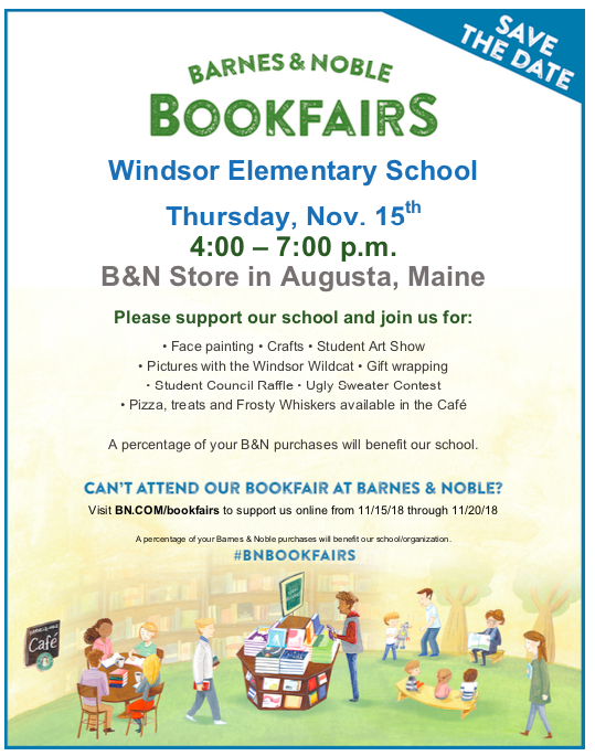 B&N book fair flyer