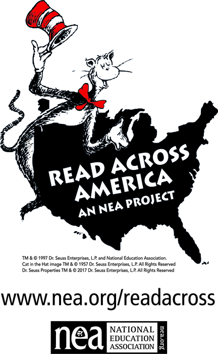 Read Across America logo from NEA