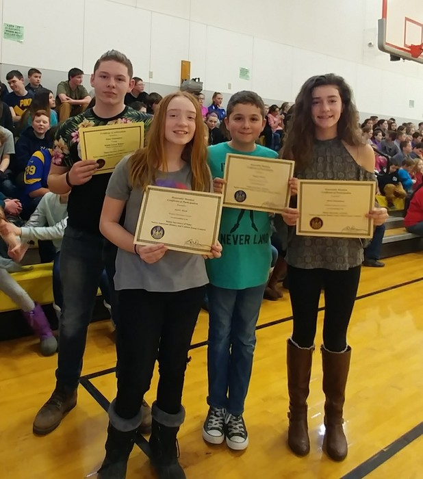 Congratulations to winners of the Secretary of State's Native American Essay Contest