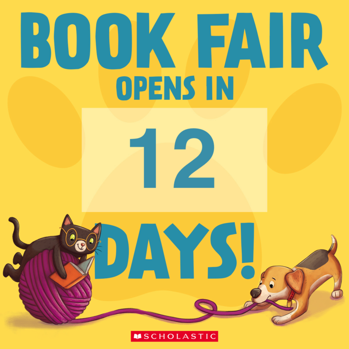12 days to the book fair